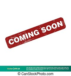 Coming Soon Banner Vector Template Illustration Design. Vector EPS 10.