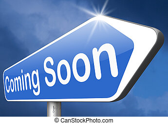 coming soon brand new product release next up promotion and ...