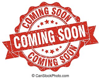 coming soon stamp. sign. seal