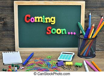 Coming soon word on school board