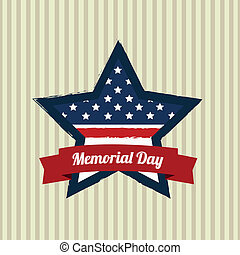 commémoratif, étoile, jour