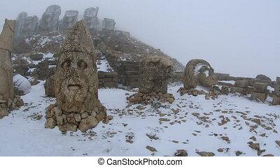 Mount Nemrut - Commagene Kingdom (Komagene Krall built on...