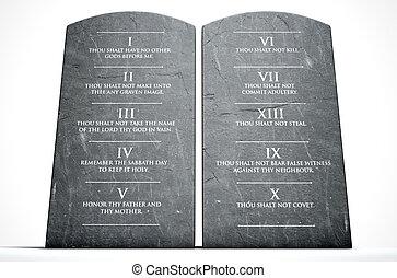 commandements, dix