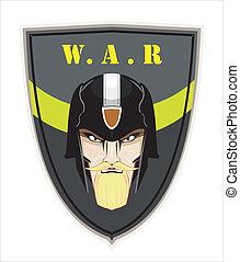 commander. commando. shield. war