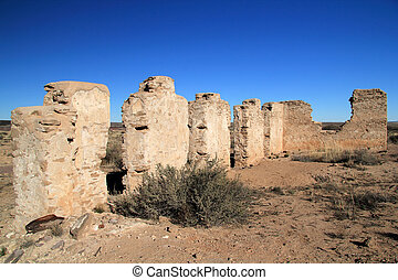 Commanding Officers Quarters Ruins