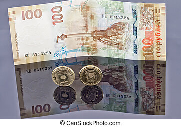 Commemorative coins and banknotes issued by the Bank of Russia