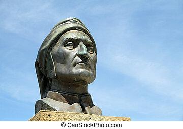 Commemorative monument of Dante  Alighieri