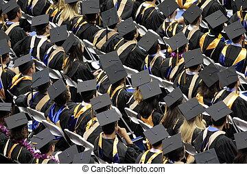 MBA commencement ceremony