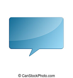 Comment bubble - Illustration of a comment (talk) bubble
