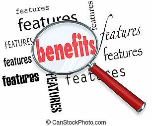 comment, principe, noyau, vendre, caractéristiques, ventes, avantages, vs