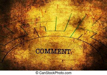 commentaire, texte, concept, grunge, labyrinthe