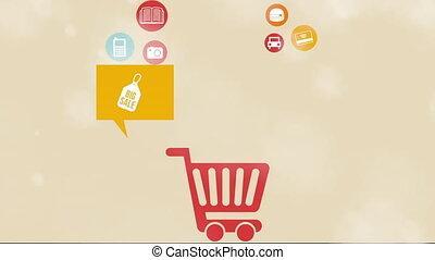 Commerce icon design, Video Animation