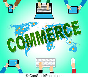 Commerce Online Indicates Web Site