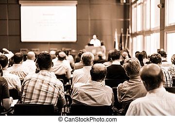 commercer, union, consultatif, comité, meeting.