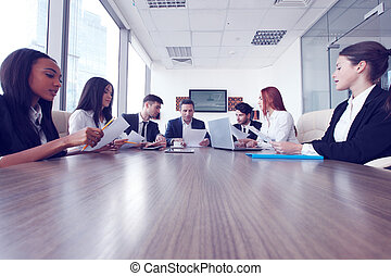 commerciële vergadering