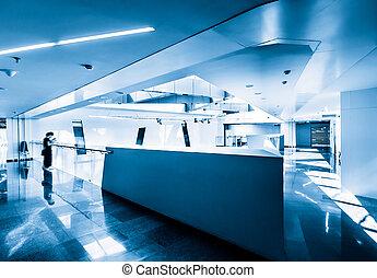 Commercial Building aisle