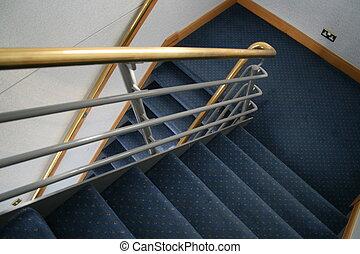 commercial, cage escalier