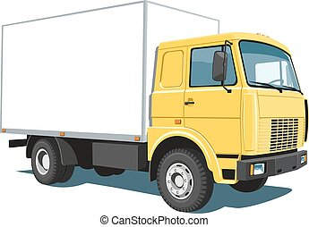 commercial, camion