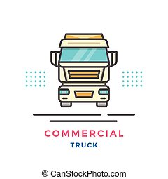 commercial, concept, camion