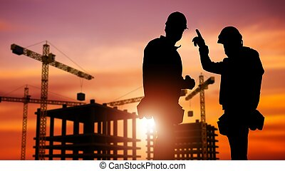 Commercial Construction Concept