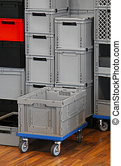 Commercial crate box