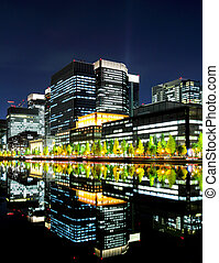 commercial, district, tokyo