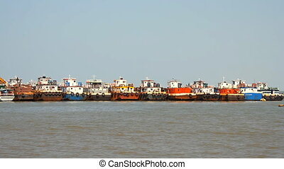 commercial fishing boats based at p