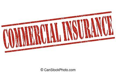 Commercial insurance stamp