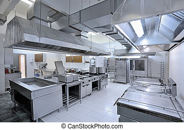 Commercial kitchen - Interior of the professional kitchen