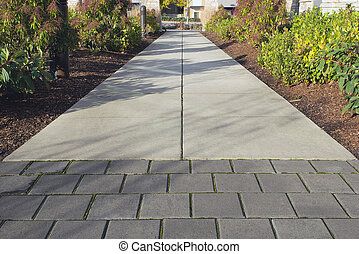 Commercial Outdoor Sidewalk Landscaping - Commercial Outdoor...