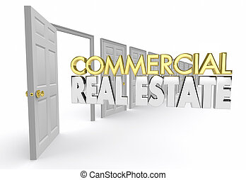 Commercial Real Estate Office Location Agent Agency 3d ...
