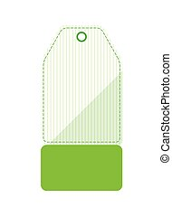 commercial tag hanging icon