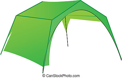 Commercial tent - Tent for commercial use in the mini...