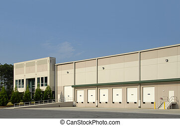 Commercial Warehouse - A new commercial warehouse for lease