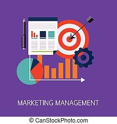 commercialisation, art, concept, gestion