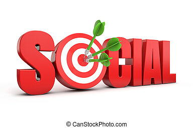 commercialisation, cible, social