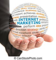 commercialisation, concept, business, internet