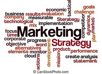 commercialisation, concept, fond, stratégie