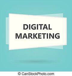 commercialisation, concept, numérique