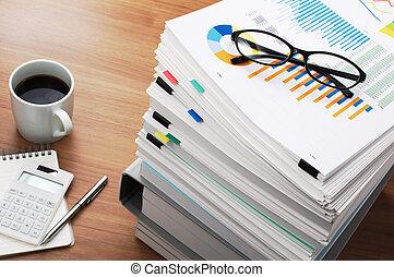commercialisation, données, analysis., bois, table.