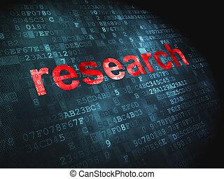 commercialisation, numérique, concept:, fond, recherche
