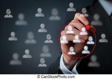 commercialisation, segmentation