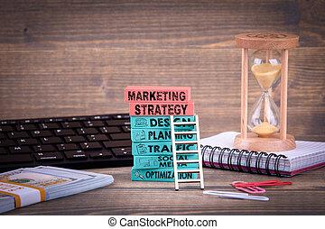 commercialisation, stratégie, concept affaires