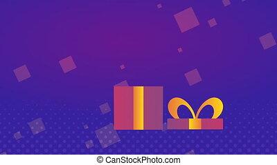 commercieel, etiket, kado, cadeau, verkoop