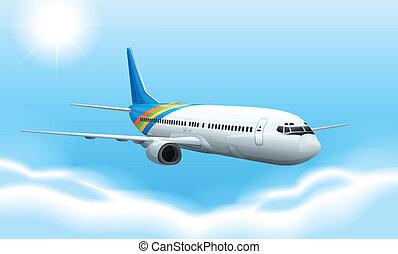 commerical, avión