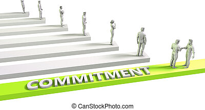 Commitment Mindset for a Successful Business Concept