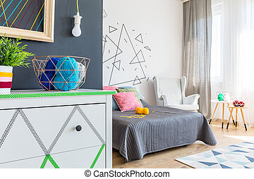 commode, 現代, 寝室