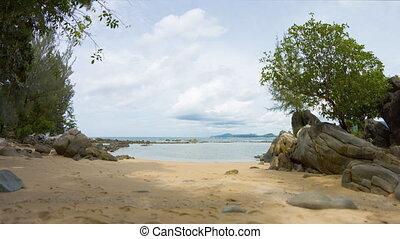 Common Andaman coast on Phuket Island.