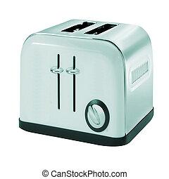Common chrome toaster