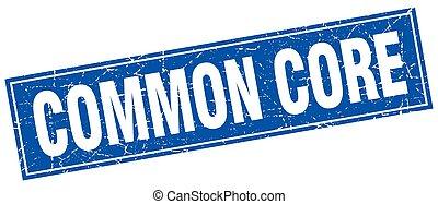 common core square stamp